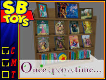 [SB TOYS] Child's Bookshelves w/ Reader