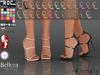::ROC:: Ankle Strap Heels! Vivina