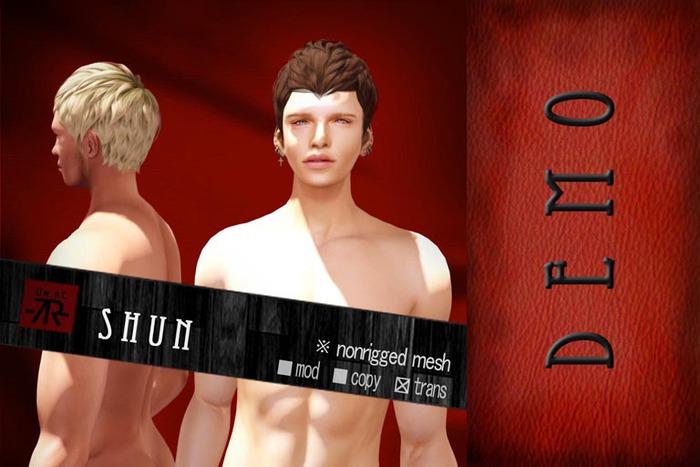 [Uw.st -7R-]  Shun-hair  demo pack