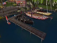 15pc old weathered wooden modular jetty FULL Set