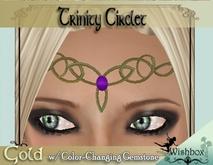 [Wishbox] Trinity Circlet w/ Color-changing gemstone tagFantasy