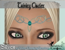 [WIshbox] Trinity Circlet w/ Color-commands Gemstone - Fantasy