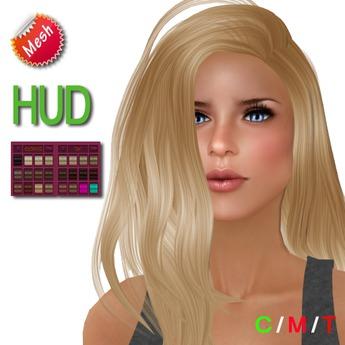 """eDeLsToRe woman mesh hair """" Carmen """" incl 24 colors HUD"""