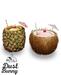 dust bunny . pineapple & coconut drinks