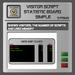 EMU Visitor Script Statistic Simple