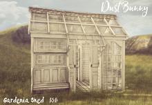 dust bunny . gardenia shed