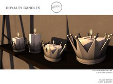 .birch. Royalty Candle Silver