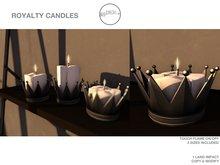 .birch. Royalty Candle Black- REZ ME