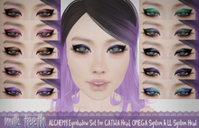 milk teeth. ALCHEMY Eyeshadow set for Catwa & Omega