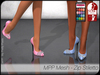 - MPP Mesh - Zip Stiletto - Fashion
