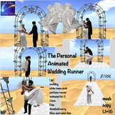 The Personal Animated Wedding Runner for Two(crate)