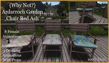 {Why Not?}Ardarroch Garden Chair Red Ash-Boxed