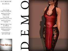 The Muses - Dragonscale - Top . DEMO - Fitmesh - Belleza, Slink, Maitreya, Classic Sizes.