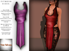 The Muses . Dragonscale . Top . Purple - Fitmesh - Belleza, Slink, Maitreya, Classic Sizes.