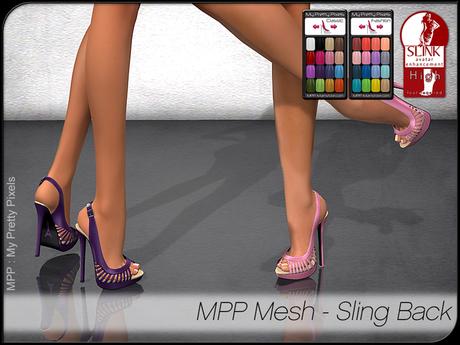 - MPP Mesh - Shoes - Sling Back
