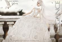 """Elegance B. -Ball Gown """"Queen"""" - DEMO -  Maitreya , Slink"""