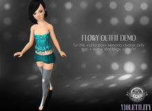 Violetility - Flowy Outfit for Kemono [DEMO]