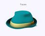 Mkt fedora hat face