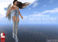 Violetility - Genderpunk! Burlesque Outfit [Angel]