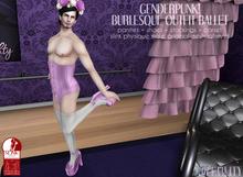 Violetility - Genderpunk! Burlesque Outfit [Ballet]