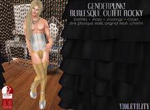 Violetility - Genderpunk! Burlesque Outfit [Rocky]