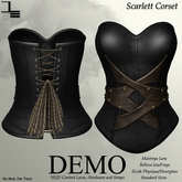 DE Designs - Scarlett Corset - DEMO