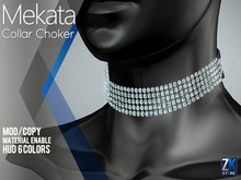 ZK - Mekata Collar Choker Diamond