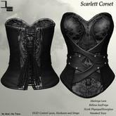 DE Designs - Scarlett Corset - Vintage 6