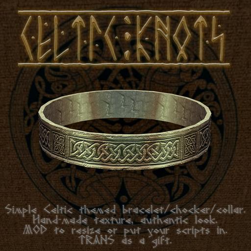 celtic bracelet / choker / collar