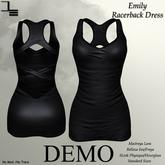 DE Designs - Emily Racerback Dress - DEMO