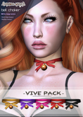 .{PSYCHO:Byts}. Choker Bell - Vive Pack