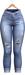Blueberry - Melanie High Waist Capri Jeans - Maitreya, TMP, Belleza (All), Slink Physique Hourglas - ( Mesh ) Light Blue