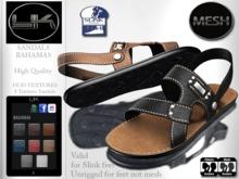 YACK - Mens MESH Sandals Bahamas - HUD Textures