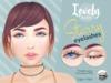 ((Lovely Alien)) Starry Eyelashes - For Catwa Heads