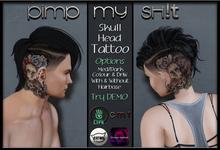 PMS - Skull Head Tattoo