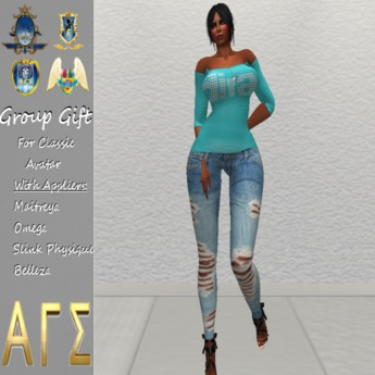*AGS INC.* Womens: Diva with Appliers  July Free Gift