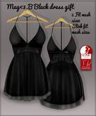 Mag<3.B Black dress group gift