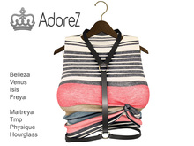 AdoreZ- Erin Top  striped
