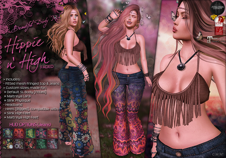 *B.D.R.* Hippie n' High (Faded) / Complete Outfit