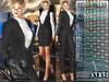 Bella moda tuta femmina black female suits