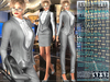Bella Moda: Tuta Femmina Silver Female Suits - 2 Versions Included + Shoes / 5 Standard Sizes + Fitted - FULL