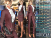 Bella Moda: Tuta Femmina Red Female Suits - 2 Versions Included + Shoes / 5 Standard Sizes + Fitted - FULL
