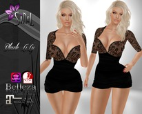 SiNeL:Black Lily Outfit