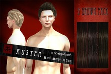 [Uw.st -7R-] Auster-hair D brown pack