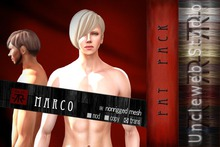 [Uw.st -7R-]  Marco-hair  Fat pack