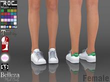 ::ROC:: Sneaker! White (FEMALE)