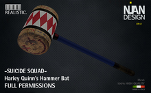 079 -.:Nian Design:. Harley Quinn Hammer  Bat SUICIDE SQUAD FULL PERMISSIONS