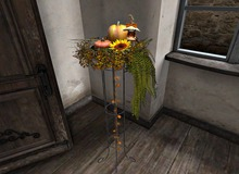 CJ Autumn Iron Plant Stand 02 ~ copy + mody ~