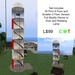 Casper vendor sign luxury lighthouse
