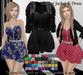 [Syn] Eleonor Jacket & Dress (Texture HUD, Maitreya, Slink, Hourglass & TMP, materials enabled)